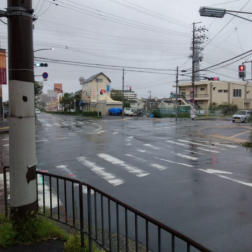 台風🌀をなめてました😣。。。